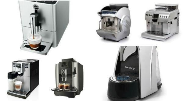 קולאז' מכונות קפה לעסקים